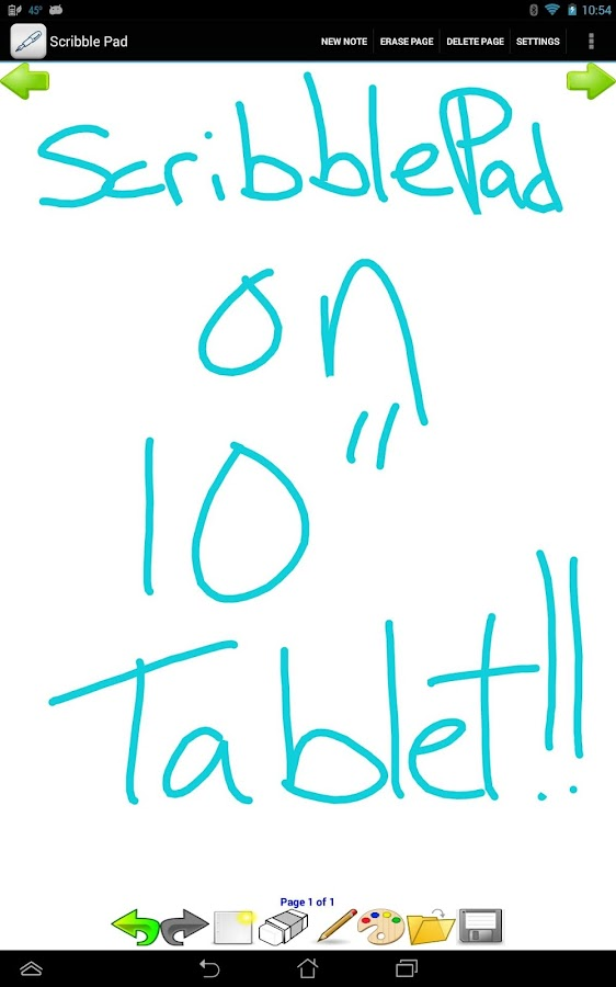 Scribble Pad - screenshot