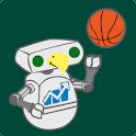Wagner Football & Basketball logo