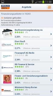 Finanzplaner Baufinanzierung - screenshot thumbnail