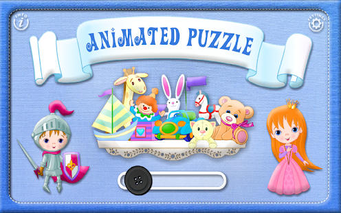 Kids Animated Puzzle -Toddlers- screenshot thumbnail