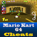 Mario Kart 64 Cool Cheats logo