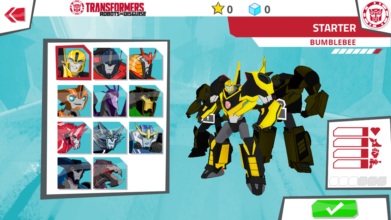Transformers: RobotsInDisguise - screenshot