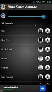 Ringtone Sounds- screenshot thumbnail