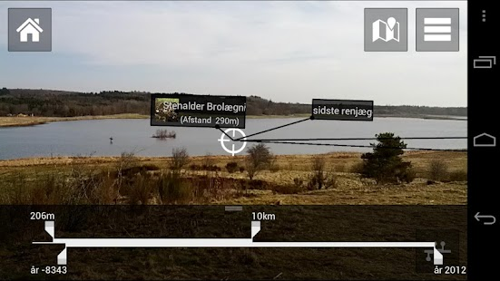 Digitale Tråde over landskabet- screenshot thumbnail
