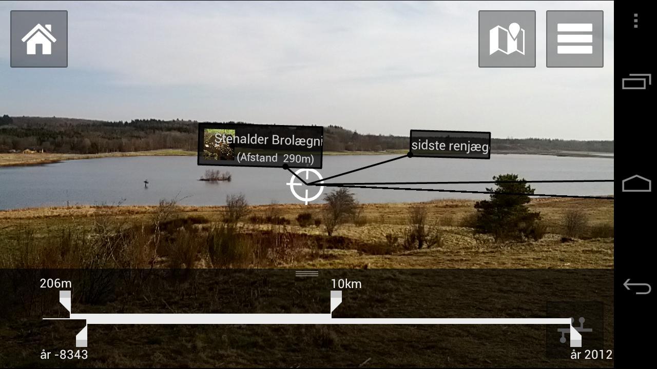 Digitale Tråde over landskabet- screenshot