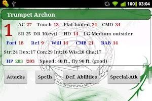 Screenshot of Summoner PF RPG