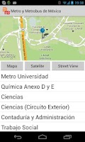 Screenshot of Metro y Metrobus de Mexico