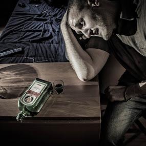 despair by Fabio Grezia - People Portraits of Men (  )
