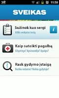 Screenshot of Sveikas.lt