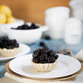 Lemon Blackberry Mini Tarts
