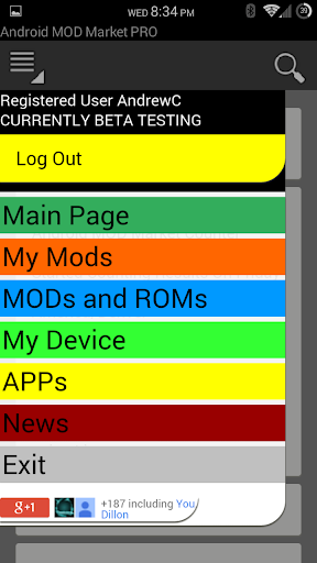 MOD Market PRO for Android