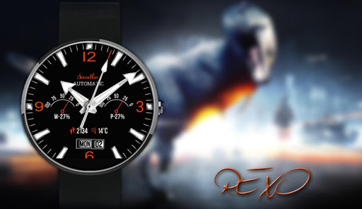Rexo HD Wear Face For Moto 360