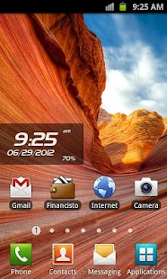Proton Clock Widget Pro- screenshot thumbnail