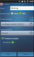 Screenshot of PhoneRobot Auto Call Blocker