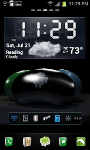 Jelly Bean 3D Live Wallpaper - screenshot thumbnail