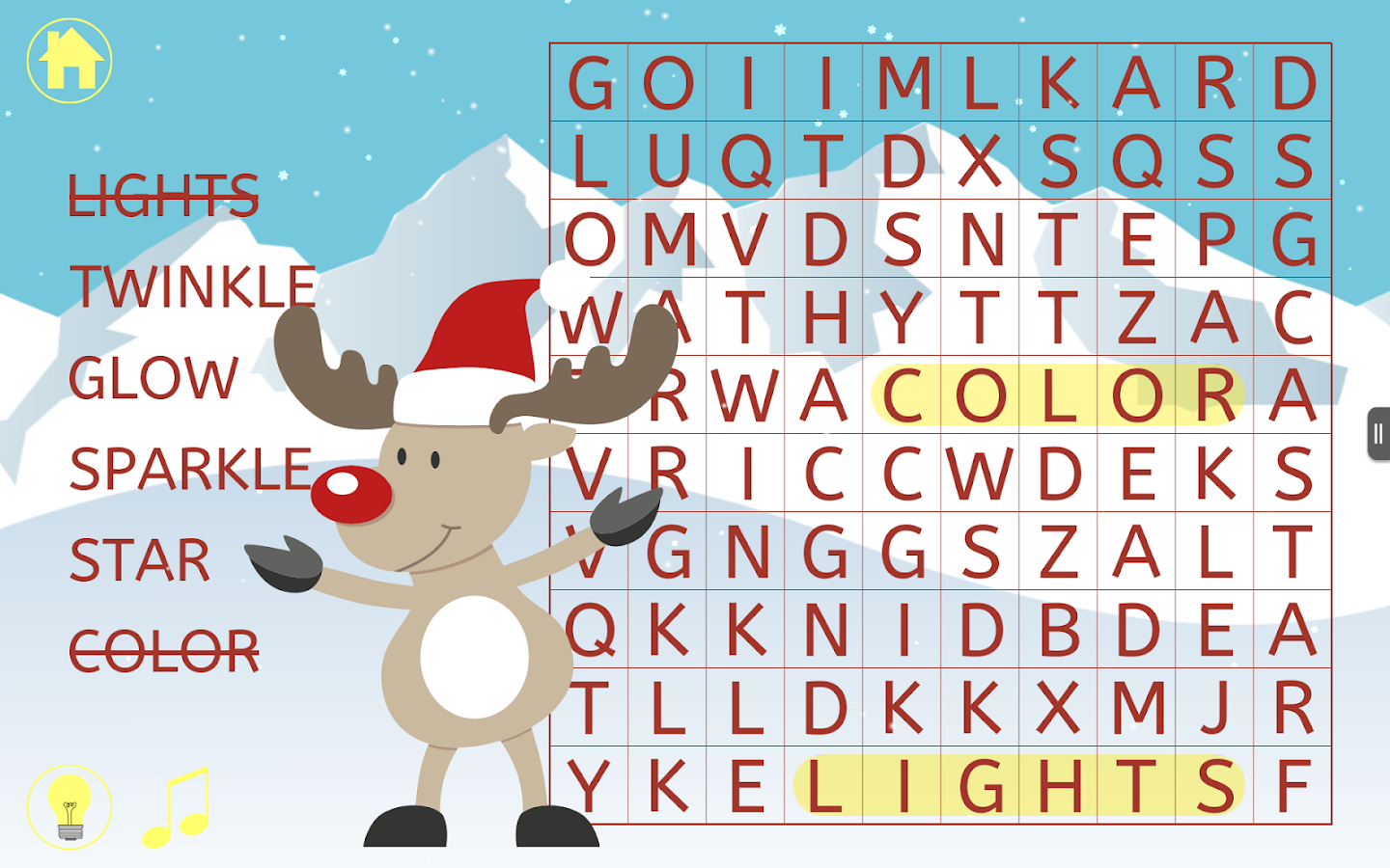 christmas word search puzzle android apps on google play