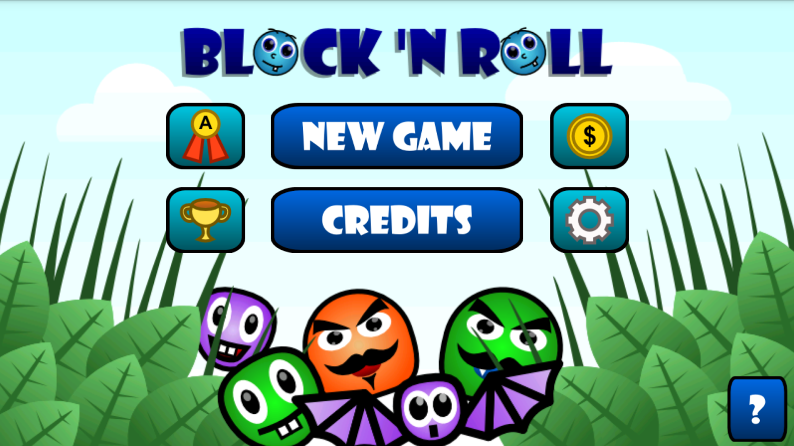 Block 'n Roll Runner - Free- screenshot