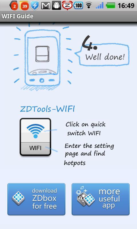 WIFI widget(One tap switch) screenshot #1