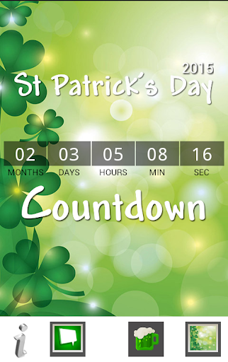 St Patrick's Day Countdown