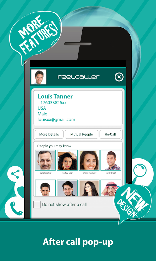 ReelCaller-Search phone number- screenshot