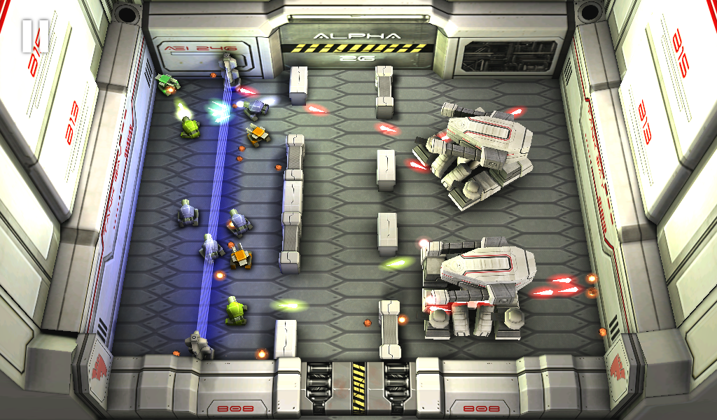 Tank Hero: Laser Wars- screenshot