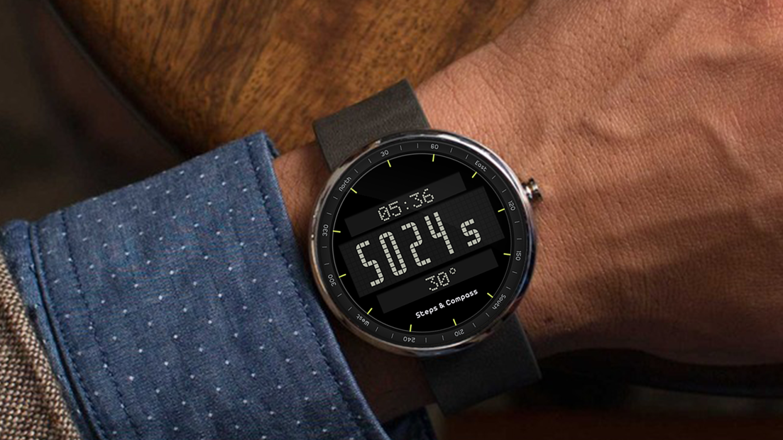 Facer android wear - Army Watch Face Screenshot