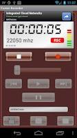 Screenshot of Fusion Recorder