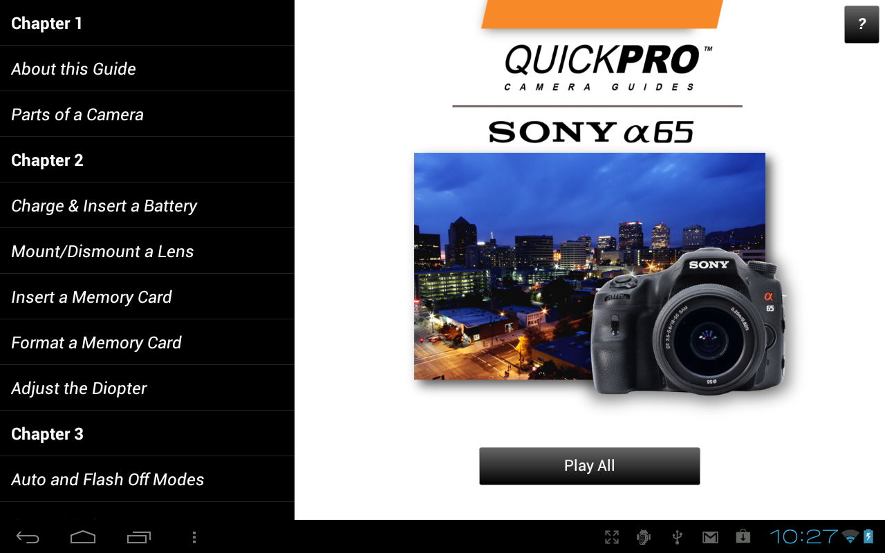 guide to sony a65 beyond