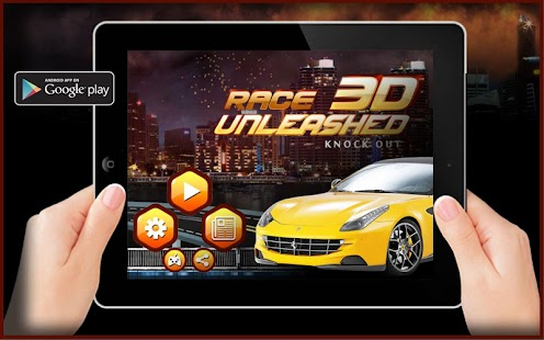 Race 3D Unleashed - Car Racing- screenshot thumbnail