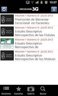 Oncologia3G: miniatura de captura de pantalla