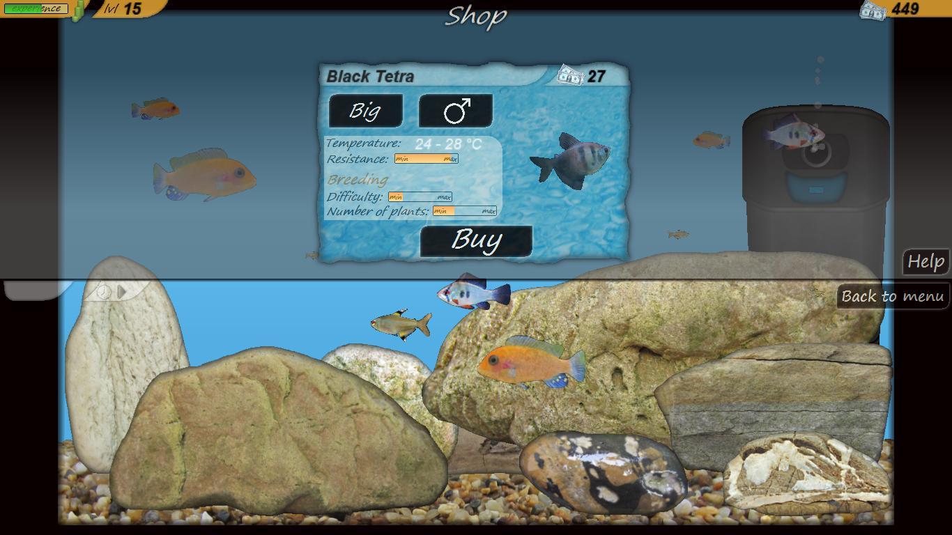 Aquarium fish tank game - Aquarium Fish Screenshot