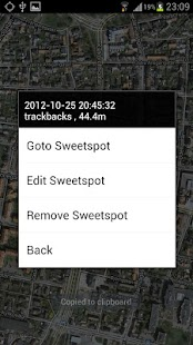 Sweetspot FREE - incl. Compass - screenshot thumbnail