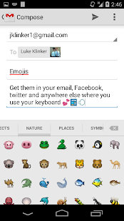Sliding Emoji Keyboard - iOS- screenshot thumbnail