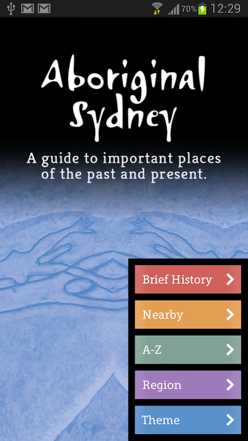 Aboriginal Sydney- screenshot