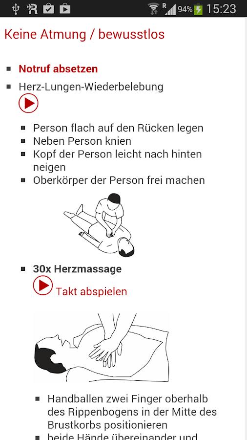 Notfall-Hilfe - screenshot