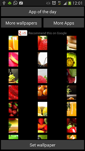 Fruit Wallpapers for WhatsApp