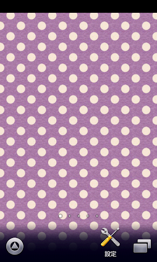 purple polkadots wallpaper