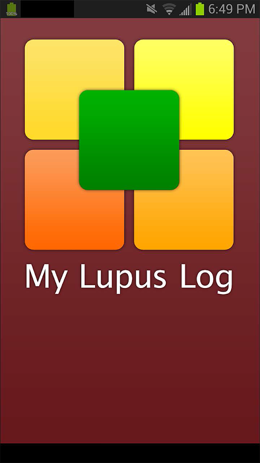 My Lupus Log- screenshot