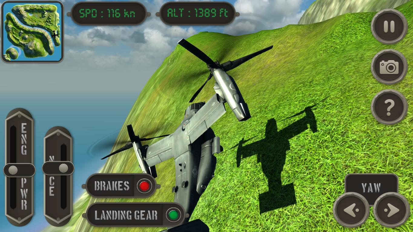 V22 Osprey Flight Simulator- screenshot