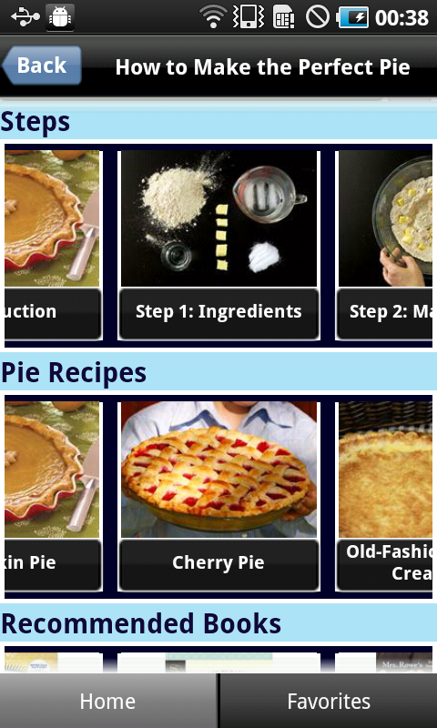 Perfect Pie Crust - screenshot