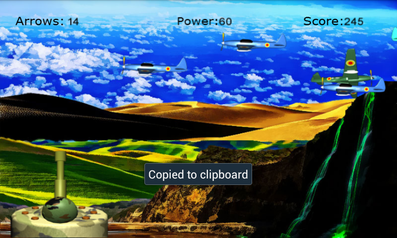 3D AirPlane Blast- screenshot