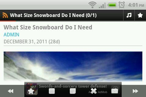 What Size Snowboard do I Need - screenshot