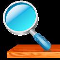 "Web search widget ""SHELF"" icon"