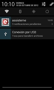 Assisteme - Cliente de avisos.- screenshot thumbnail