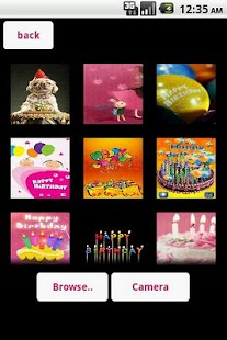 Mobile Birthday Cards - screenshot thumbnail