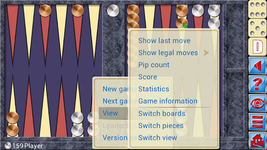 Backgammon V+- screenshot thumbnail