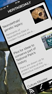 HeritageDaily News - screenshot thumbnail