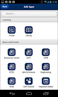 UofT Mobile - náhled