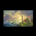Thomas Kinkade Lighthouse logo