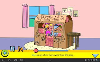 Screenshot of The Three Little Pigs